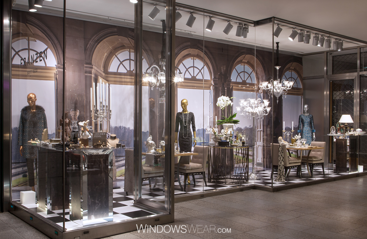 Franzen Düsseldorf genesis window displays windowswear pro