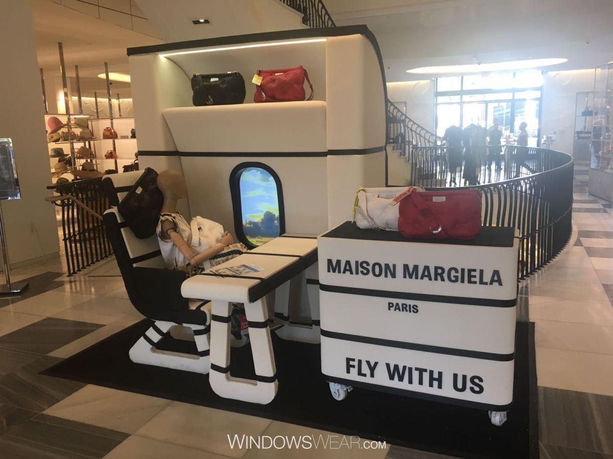 MAISON MARGIELA LAUNCH GLAM SLAM BAG WINDOWS CAMPAIGN PRODUCED BY ...