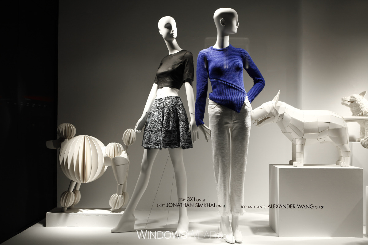 Bergdorf Goodman via WindowsWear.com