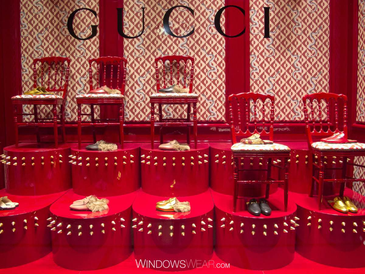 41a7d0bbb Gucci Launches Home Decor Collection Featured In Windows ...