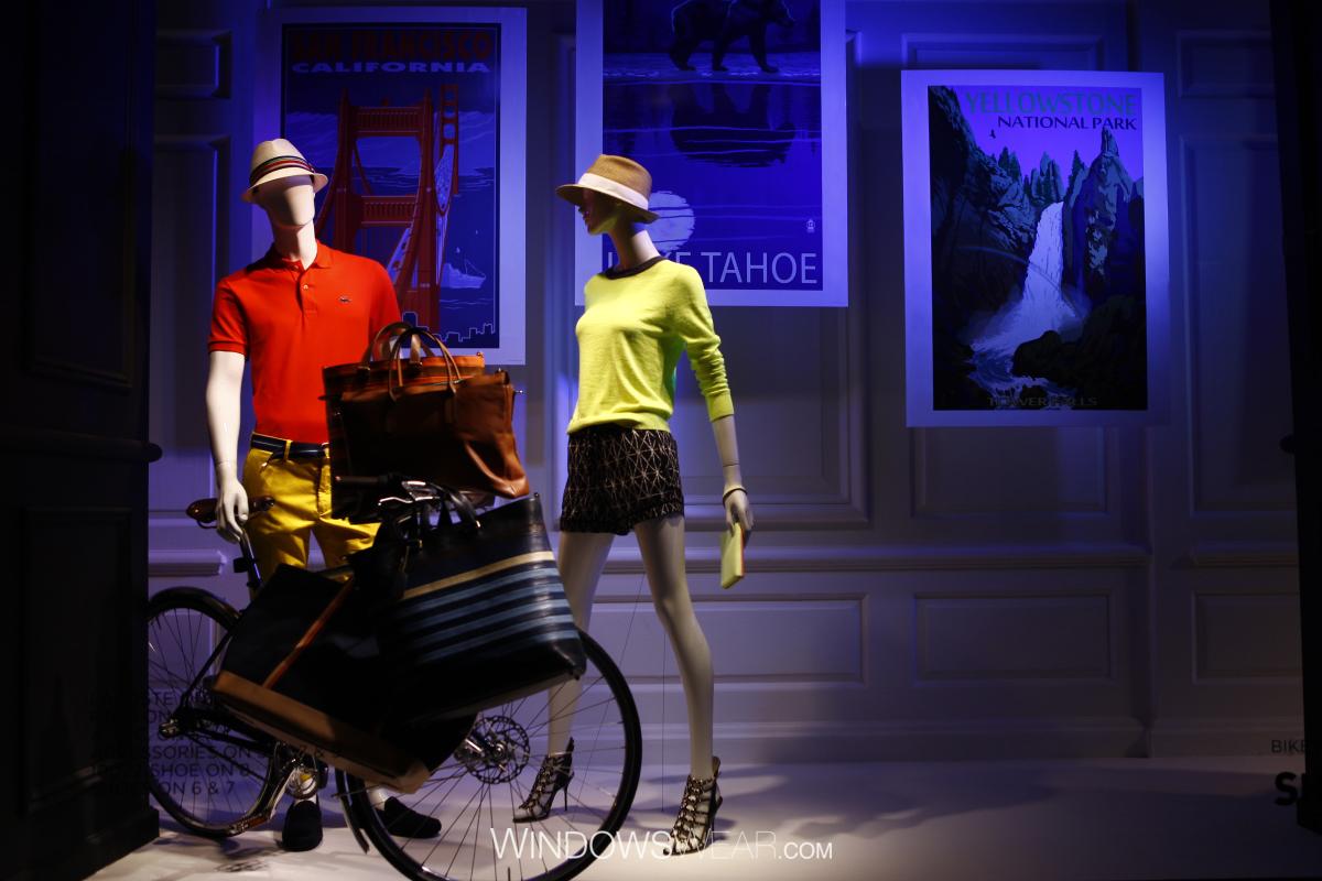 Saks Fifth Avenue via WindowsWear.com